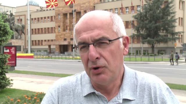 A political analyst calls the storming of the Macedonian parliament by nationalist protesters on 27 April a tragic day and warns that the deep...