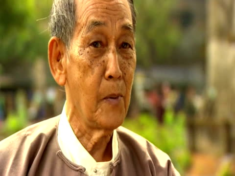 political prisoner thu wai comments on election in burma - political prisoner stock videos & royalty-free footage