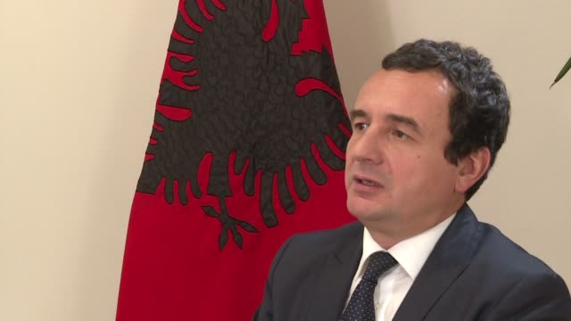 political prisoner turned parliamentary troublemaker albin kurti is within reach of becoming kosovo's next prime minister after an electoral triumph... - political prisoner stock videos & royalty-free footage