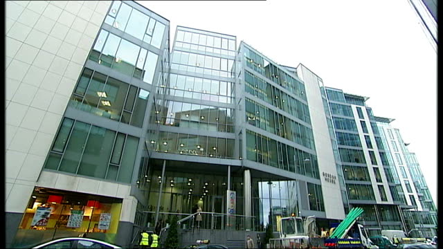 politicians lobbying for twitter european headquarters republic of ireland dublin general view of google european headquarters office block google... - logo stock videos & royalty-free footage