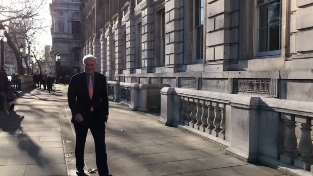 politicians meet with the prime minister for further discussions on brexit interviews with caroline lucas tom brake alistair carmichael and nigel... - オーウェン・パターソン点の映像素材/bロール