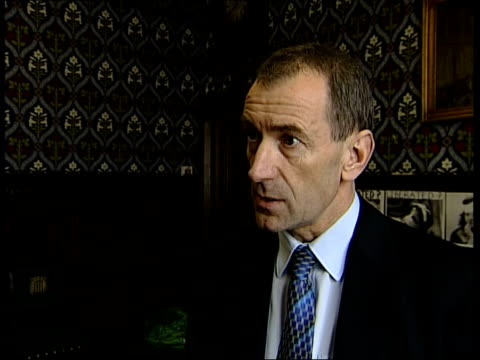 politics blair considered resignation itn england london cms stephen pound mp interview sot voting against the government is like losing your... - losing virginity stock videos & royalty-free footage
