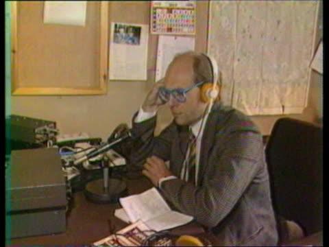 british journalists expelled gloverjames i/c expelled bbc radio correspondent jeremy harris speaking angus roxburgh seated - jon snow newscaster stock videos and b-roll footage