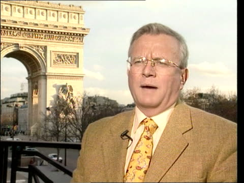 france faces legal action ove british beef itn france paris jacques myard interview sot of course we are for europe / problem in sanitary field /... - クリシュナン・グルマーフィ点の映像素材/bロール