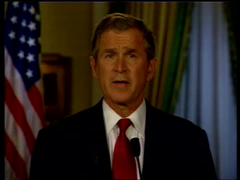 Presidential elections Gore /Bush statements and legal moves POOL George W Bush press conference SOT Outcome of this election will decided by the...