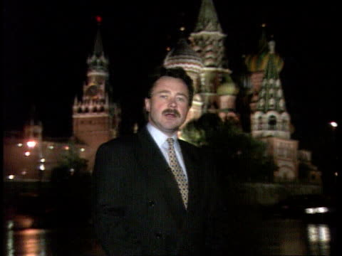 politics: sackings; int russia, moscow cms andrei kortunov intvwd sot - if there's someone who can beat yeltsin at the moment it's rutskoi... - boris yeltsin stock videos & royalty-free footage