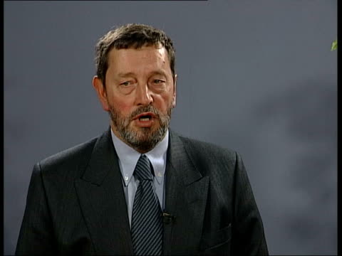 stephen byers resigns itn england london home office home secretary david blunkett mp being interviewed david blunkett mp interviewed sot months ago... - things that go together stock videos & royalty-free footage