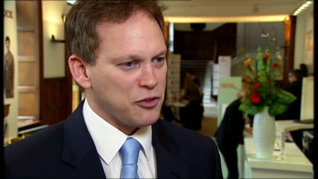 poll suggests labour is on course to win clear majority at next general election england london int grant shapps mp interview sot i'd love to be... - grant shapps stock videos and b-roll footage