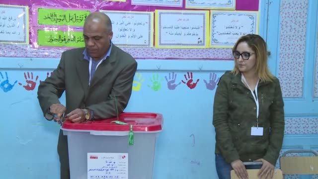 polling stations close in tunisia and election workers prepare to count results in a country that held its first free municipal elections sunday but... - revolution stock videos & royalty-free footage