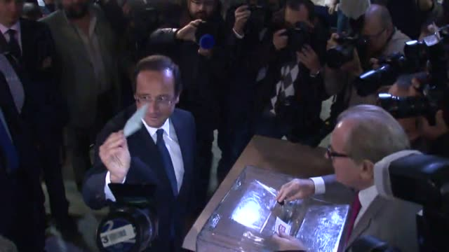 polls opened on sunday in france's first open usstyle primary election with the leftwing opposition choosing a candidate to take on an increasingly... - tulle stock videos and b-roll footage