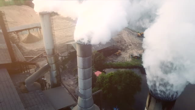 pollution on industry - smoke stack stock videos & royalty-free footage