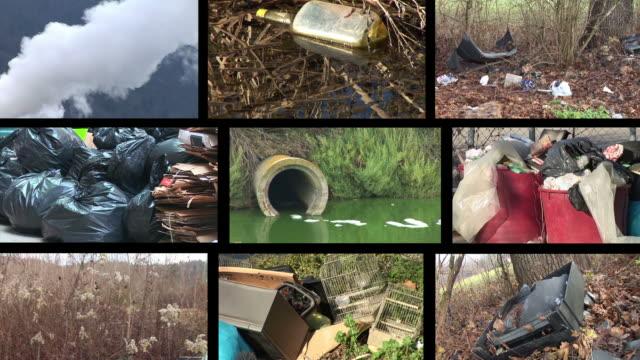 HD-MONTAGE: Umweltverschmutzung