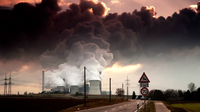 time lapse: pollution - greenhouse gas stock videos & royalty-free footage