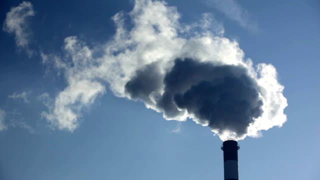 vídeos de stock, filmes e b-roll de a poluição. - nuvem cogumelo
