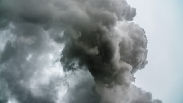 pollution - smoke stack stock videos & royalty-free footage