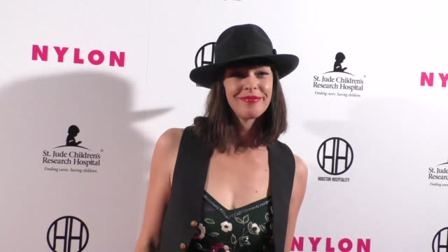 Pollyanna McIntosh at the NYLON Magazine Hosts Muses And Music Party at No Vacancy in Hollywood Celebrity Sightings on February 09 2016 in Los...