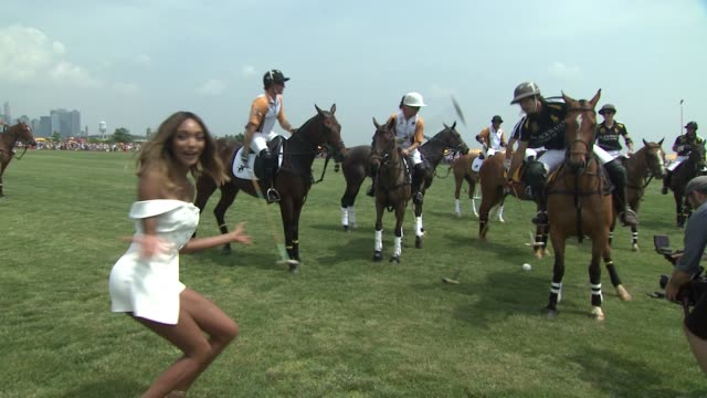 ATMOSPHERE polo broll at NinthAnnual Veuve Clicquot Polo Classic at Liberty State Park on June 4 2016 in Jersey City New Jersey