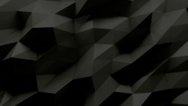 poly wall black - geometric stock videos & royalty-free footage