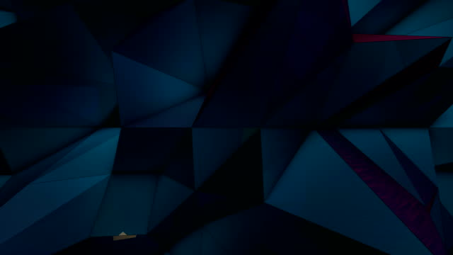 polygonal wave - loopable - geometric shape stock videos & royalty-free footage