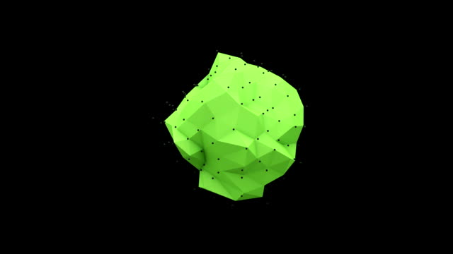 Polyhedral Morph with Alpha