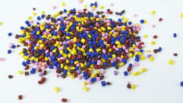 polymer granules - polyethylene stock videos and b-roll footage
