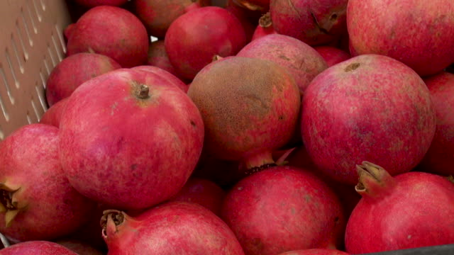 Pomegranate sold at Farmers Market
