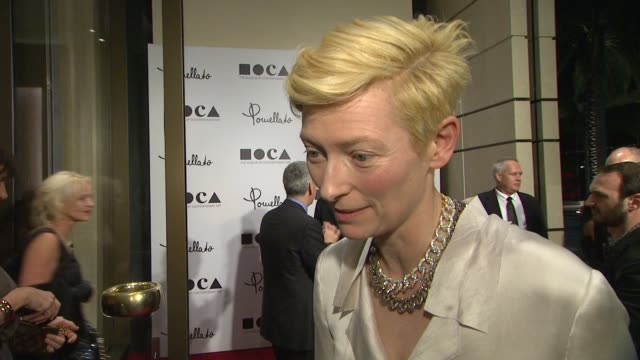 Pomellato Celebrates The Opening Of Its Rodeo Drive Boutique Hosted By Tilda Swinton And Benefiting MOCA Los Angeles CA United States 1/30/12