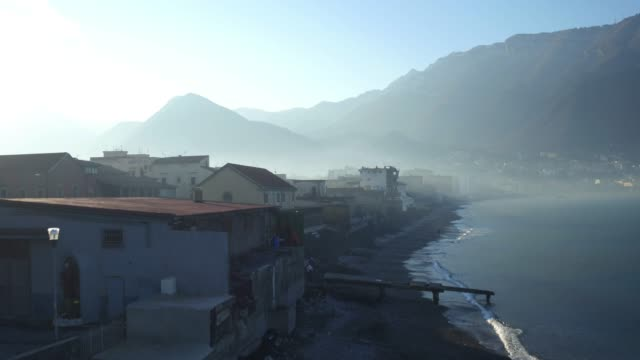 pompei city center in the morning - old ruin stock videos & royalty-free footage