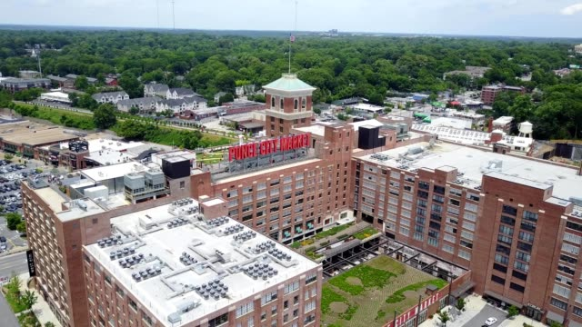 ponce city semi circle - brick stock videos & royalty-free footage