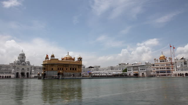 Pond in front of a Golden Temple