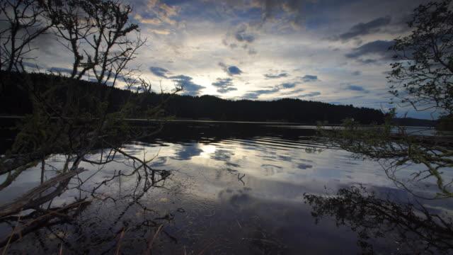Pond reflecting sky, Oregon