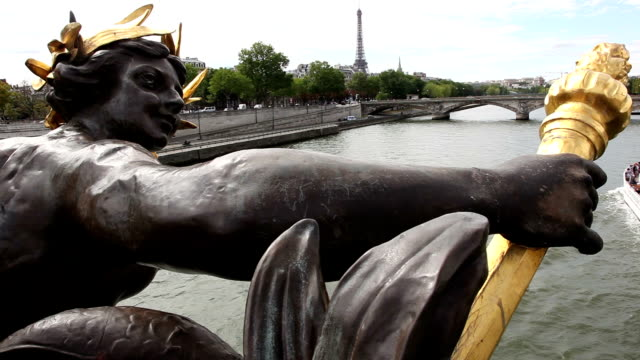 Pont Alexandre III & Eiffel Tower, Paris