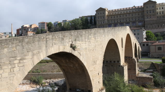 pont vell, manresa - neo classical stock videos & royalty-free footage
