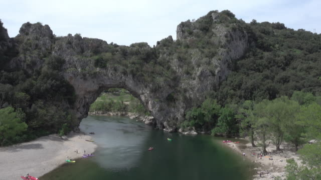 Pont-d'Arc in the Ardèche canyon