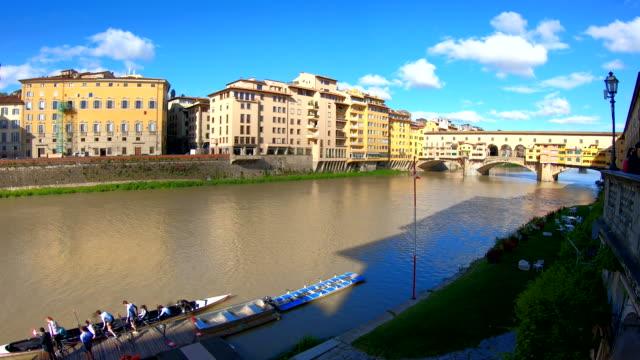 ponte vecchio - florence, italy - ponte stock videos & royalty-free footage