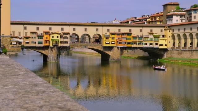 ponte vecchio - florence italy stock videos & royalty-free footage