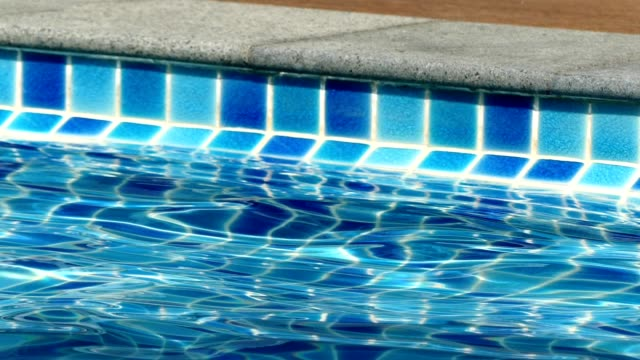 pool by the beach - mosaic stock videos and b-roll footage