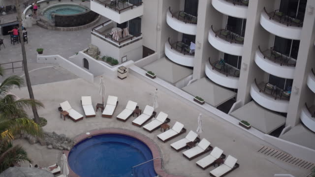 a pool in cabo san lucas, mexico - cabo san lucas stock videos & royalty-free footage