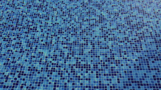 pool mosaic - tiled floor stock videos & royalty-free footage
