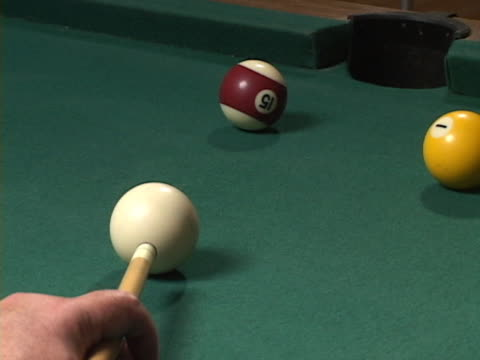 Pool Table Side Pocket (NTSC-DV) w/sound
