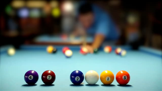 pool table - carrom stock videos & royalty-free footage
