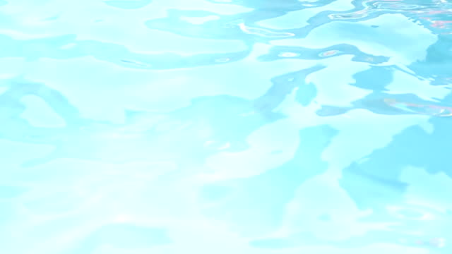 pool water surface - loopable, hd, ntsc - water surface stock videos & royalty-free footage