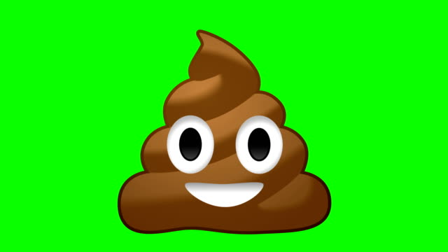 vidéos et rushes de poop emoji - émoticon