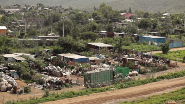 Poor neighborhoods near Oaxaca City