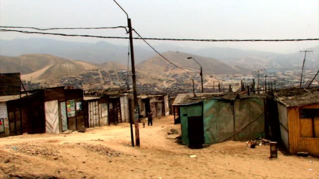 poor village in peru - south america stock videos & royalty-free footage