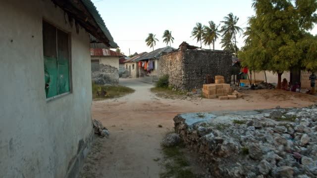 pov poor village on the beach - town stock videos & royalty-free footage