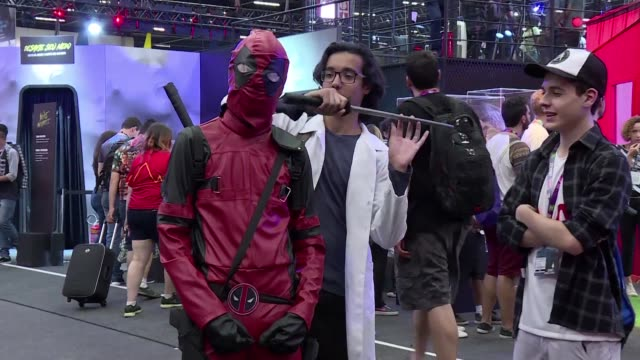 Pop culture comic and gaming nerds dress up and discover the latest in the industry at Sao Paulo's Comic Con Experience one of the world's largest...