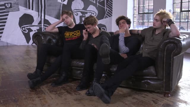 pop fluff or bona fide rockers australian pop punk sensation 5 seconds of summer have gone from youtube fame to a world tour with a follow up to... - popular music tour stock videos and b-roll footage