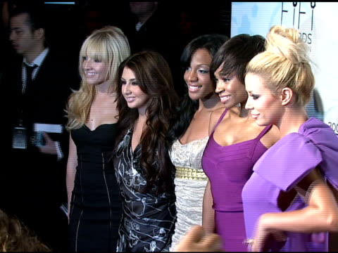Pop group Danity Kane at the Fragrance Foundation Presents 36th Annual FiFi Awards and Celebration at the Park Avenue Armory in New York New York on...