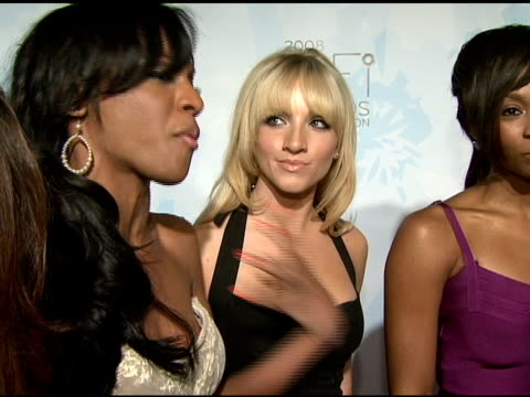 Pop group Danity Kane talking about what fragrance means to them and their favorite scents at the Fragrance Foundation Presents 36th Annual FiFi...